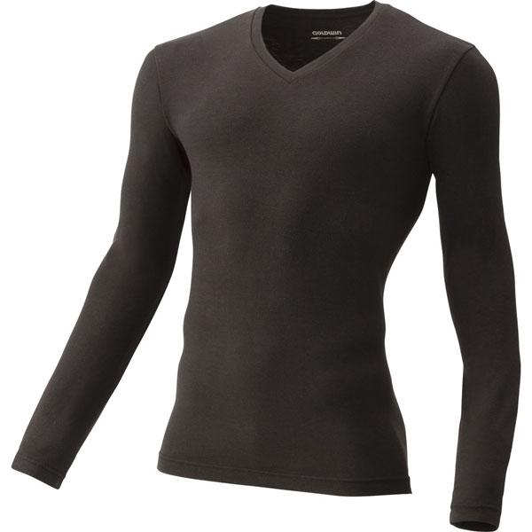光電子ロングスリーブVネックシャツ