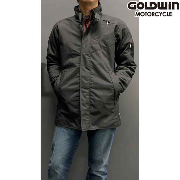 GOLDWIN 【通販限定】GSM12455 GWS マルチクルーザージャケット ブラック Lサイズ 防寒 防風 アウトレット
