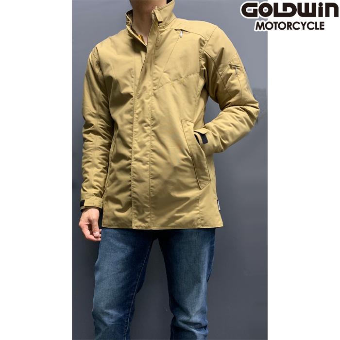 GOLDWIN 【WEB限定・残り1点!】GSM12455 GWS マルチクルーザージャケット ダークベージュ Mサイズ 防寒 防風 アウトレット