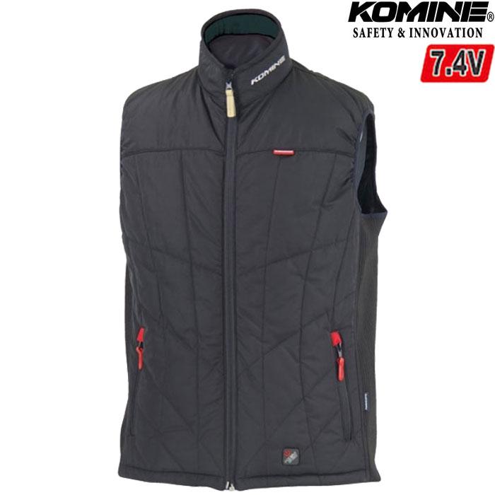 komine JK-558 エレクトリックヒートベスト 電熱 防寒 秋冬