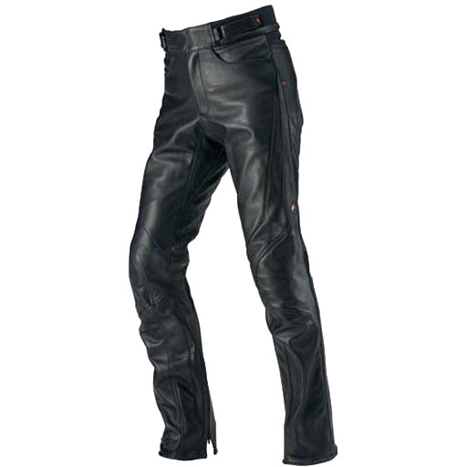 HYOD PRODUCTS 【LADYS】ST-X D3O LEATHER PANTS(STRAIGHT) BLACK