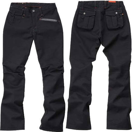 HYOD PRODUCTS D3O RIDE PANTS WARM LAYERD BLACK