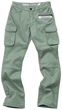 HYOD PRODUCTS D3O CARGO PANTS WARM LAYERD GREEN