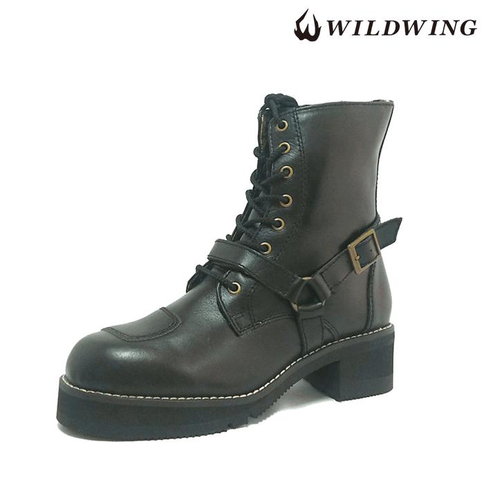 WWM-0001ATU ファルコン  ライディングブーツ 厚底 ブラック ◆全4色◆