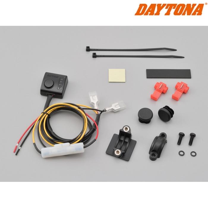 DAYTONA 〔WEB価格〕ホットグリップキット 79043用補修部品 4段階セレクトスイッチ