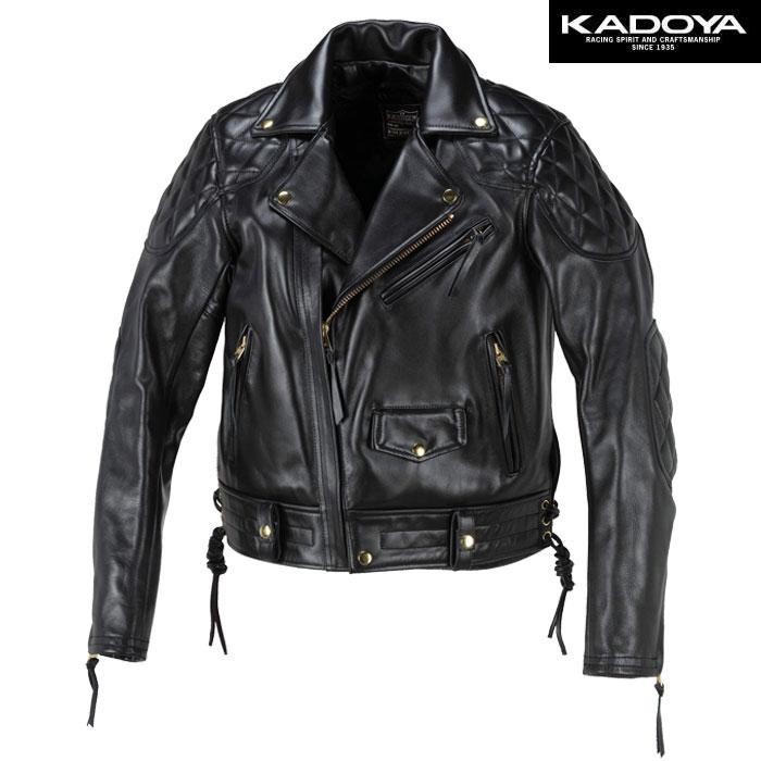 KADOYA 〔WEB価格〕【ワイドモデル】 FPW-EVO レザージャケット(ハード)