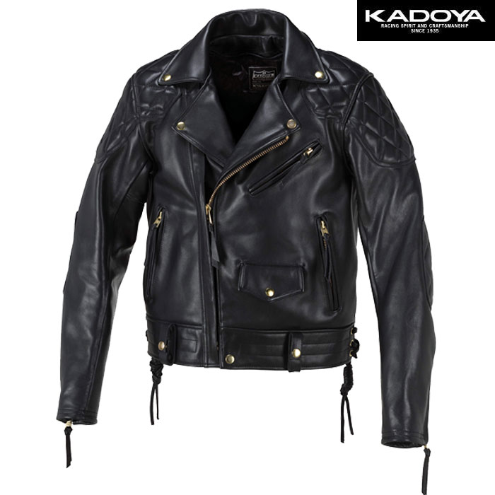 KADOYA FPW-EVO/SFT レザージャケット(ソフト) 防寒 防風