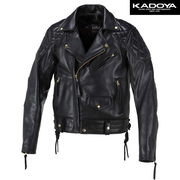 KADOYA 【ワイドモデル】 FPW-EVO/SFT レザージャケット(ソフト) 防寒 防風