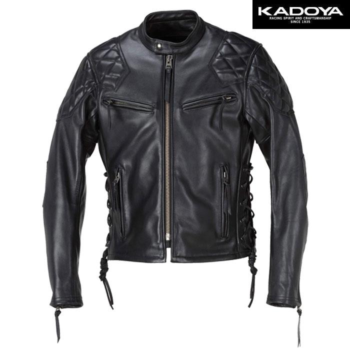 KADOYA 【大きいサイズ】 FPV-EVO/SFT レザージャケット(FPV エボ/ソフト) 防寒 防風