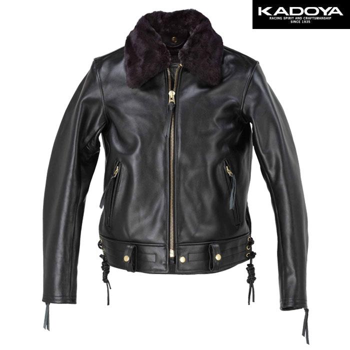 KADOYA 〔WEB価格〕【大きいサイズ】 CHW-JP レザージャケット(ハード) 防寒 防風