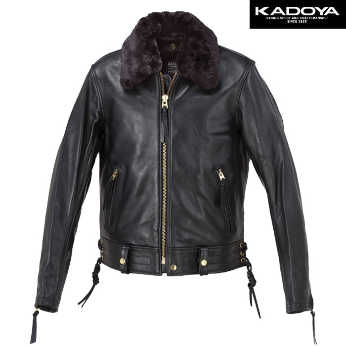 KADOYA 〔WEB価格〕【大きいサイズ】 CHW-JP/SFT レザージャケット(ソフト) 防寒 防風