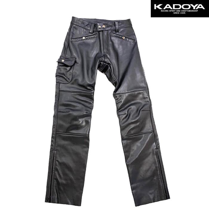 KADOYA 〔WEB価格〕【大きいサイズ】 VMX-PANTS レザーパンツ
