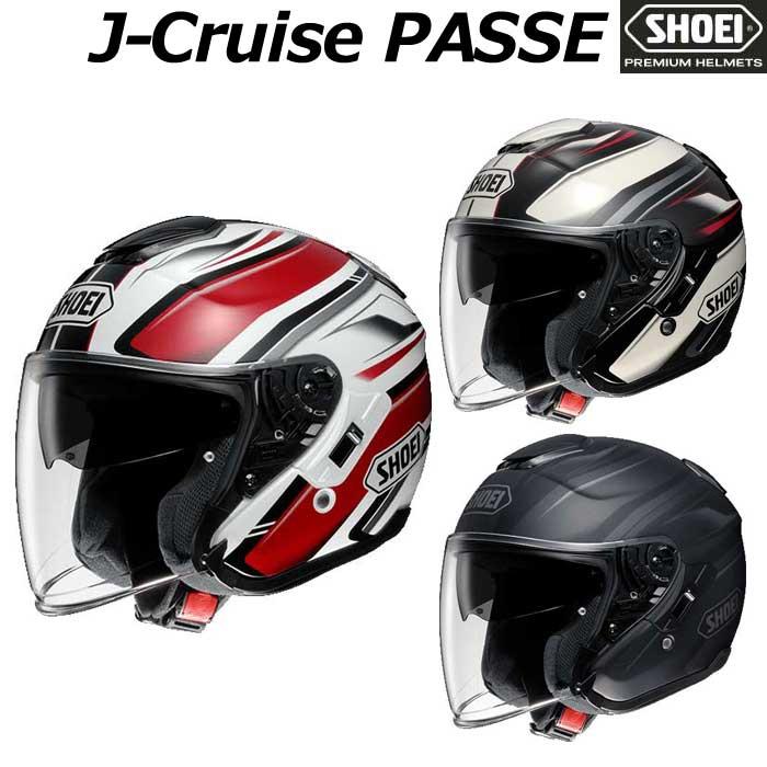 SHOEI ヘルメット J-CRUISE PASSE[パッセ] ジェットヘルメット