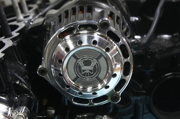 Wheelie XJR1200/1300ビレットジェネレーターカバー
