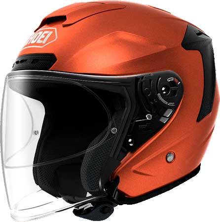 SHOEI ヘルメット (個別配送のみ 他商品との同梱配送不可)J-FORCE IV 【ジェイ-フォース フォー】ジェットヘルメット タンジェリンオレンジ