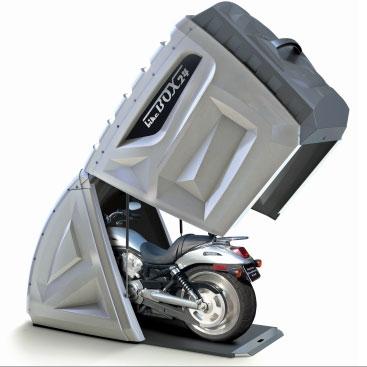 BikeBox24 【展示品現品限り】バイク用本格収納スペースBikeBox24 【ベイサイド幸浦店、三鷹東八店 店頭引渡し限定】