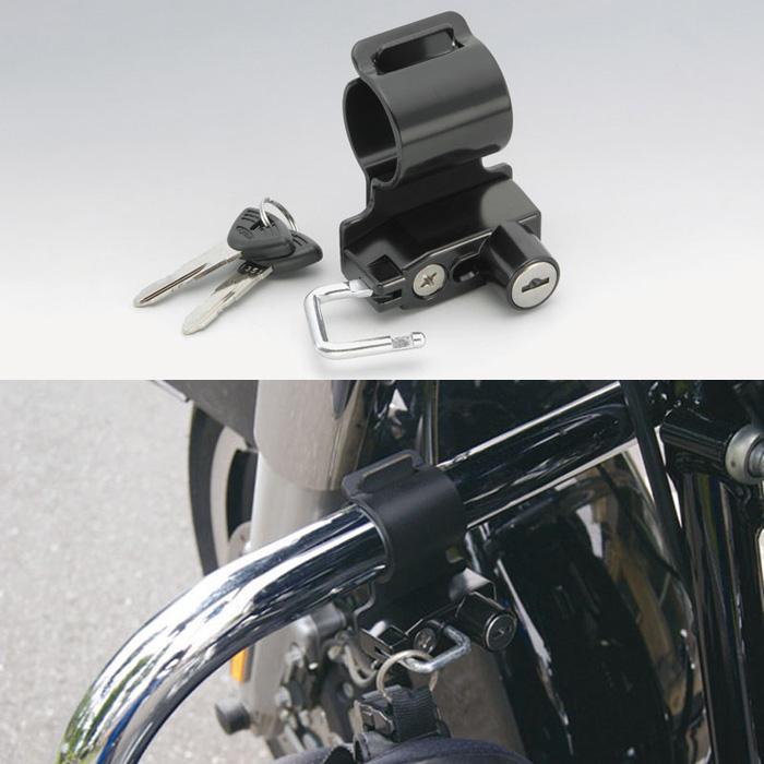 KIJIMA 〔WEB価格〕 ヘルメットロック φ32 パイプクランプタイプ