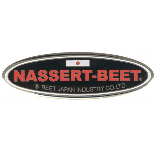 BEET JAPAN NASSERT-BEET 楕円エンブレムS