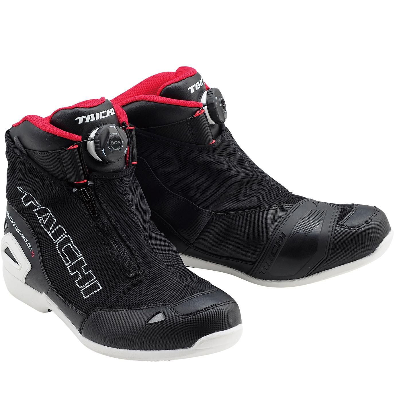 アールエスタイチ RSS008 Boaラップエアーライディングシューズ スニーカー 靴 メッシュ 春夏用 ブラック/ホワイト ◆全4色◆