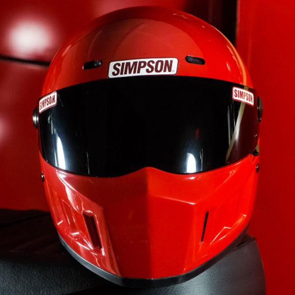 SIMPSON 【お取り寄せ】SUPER BANDIT 13 フルフェイスヘルメット レッド