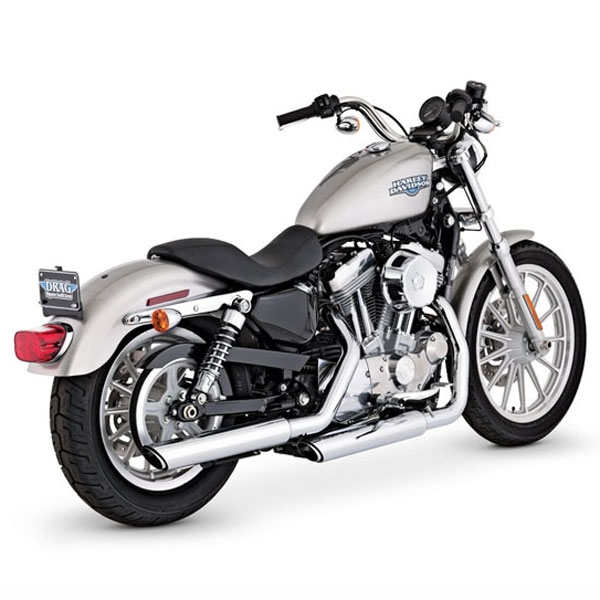 VANCE&HINES TWIN SLASH 3inch SLIP-ON