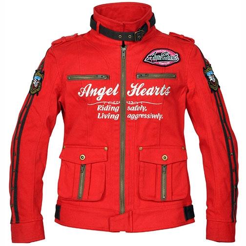 Angel Hearts レディース コットンジャケット