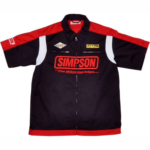 SIMPSON メカニックシャツ