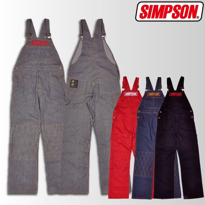 SIMPSON 【4/26(金)10:00販売開始】SOA-501 オーバーオール