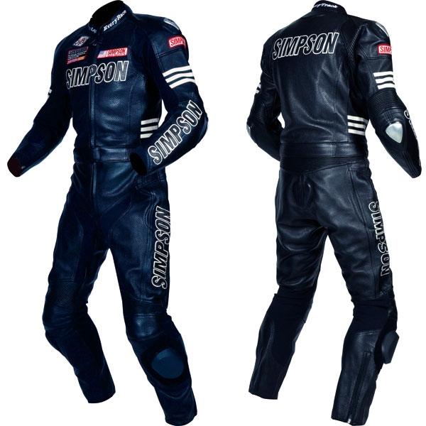 SIMPSON 2PSパンチングレザースーツ