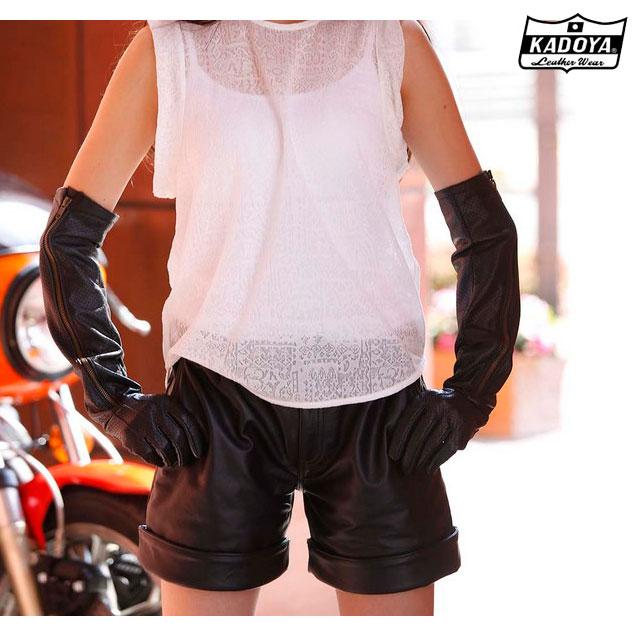 KADOYA 〔WEB価格〕レディース Leather Short Pants