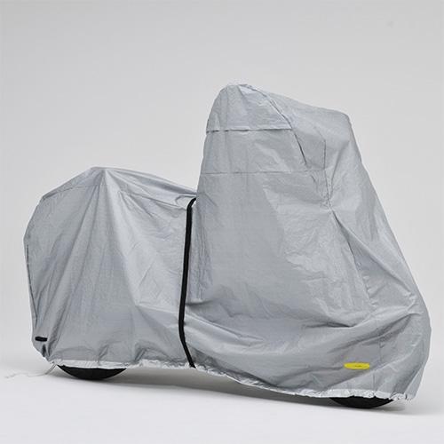 レイト商会 LOR-BC ロータス 防水愛車カバー レインブロック リアBOX仕様(3L-BOX)【大切なバイクを花粉・黄砂から守る】