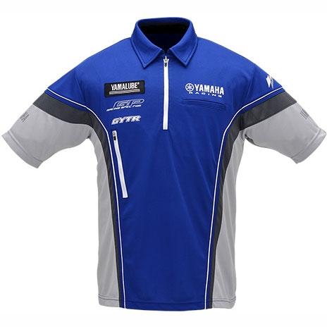 YRE01 ヤマハレーシング ハーフジップクールマックスシャツ