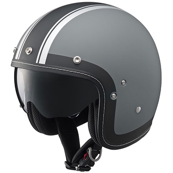 Y'S GEAR YJ-18 Drift SV グラフィック クルージングジェットヘルメット
