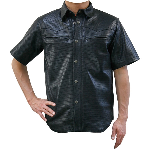 MOTO FIELD 〔WEB価格〕MF-LT008P シープパンチングウェスタンシャツ