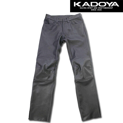 KADOYA 2262 PL-PANTS 2 パンチングレザーパンツ