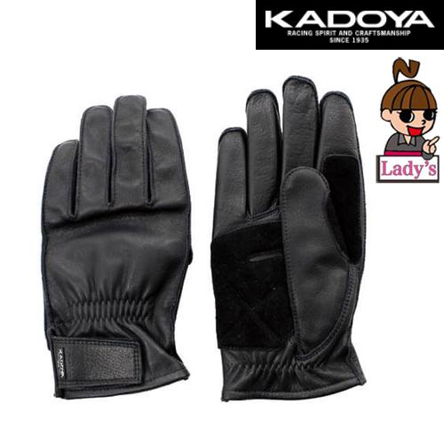 KADOYA 〔WEB価格〕【レディース 】3313  NKG-2 ショートレザーグローブ