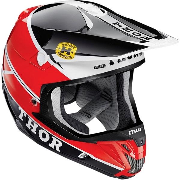 THOR 【Web会員限定】2015年モデル VERGE【ヴァージ】ヘルメット PRO GP レッド/ブラック SG規格適合モデル
