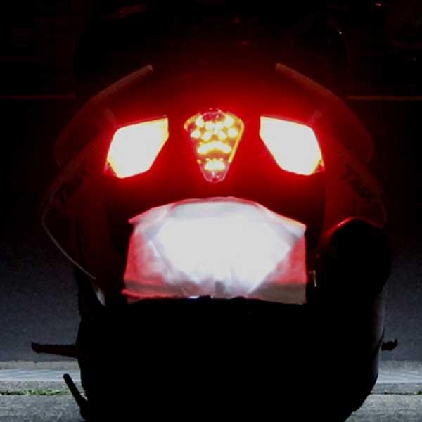 BOSSCOM JAPAN 【アウトレット】個別配送のみ バックフォグLEDウインカー(リア)