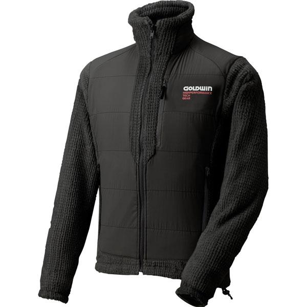 GOLDWIN GSM14553 ハイブリッドフリースジャケット 防寒 起毛フリース