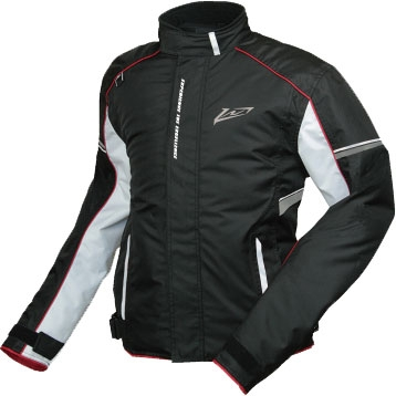 ROUGH&ROAD 〔WEB価格〕ウインターライダースジャケット ブラック×ホワイト
