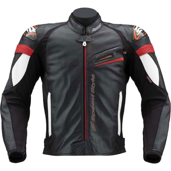 HYOD PRODUCTS ST-X LEATHER JAC DHARTI D3O 『ダルティ』 BLACK/RED