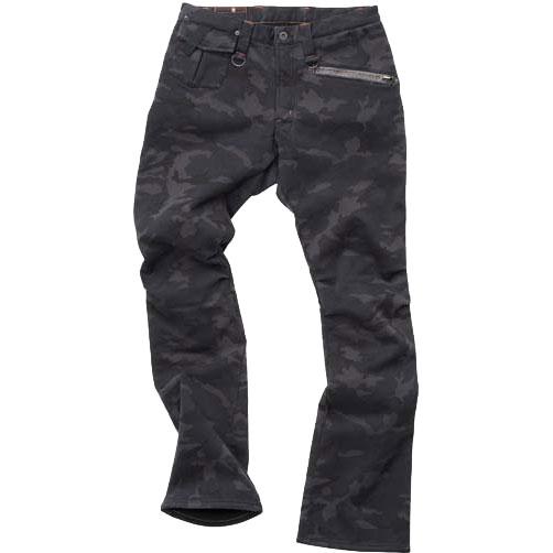 D3O RIDE PANTS WARM LAYERD BLACK CAMO