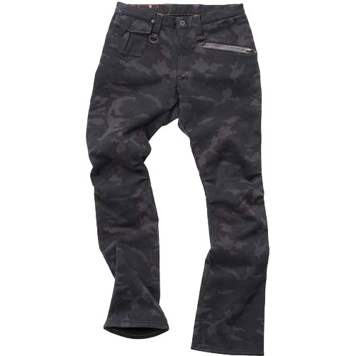 HYOD PRODUCTS D3O RIDE PANTS WARM LAYERD BLACK CAMO