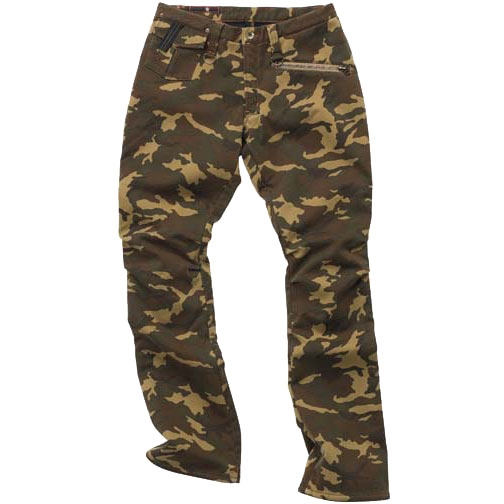 HYOD PRODUCTS D3O RIDE PANTS WARM LAYERD BROWN CAMO