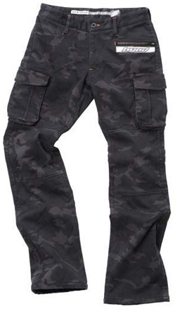 HYOD PRODUCTS D3O CARGO PANTS WARM LAYERD BLACK CAMO