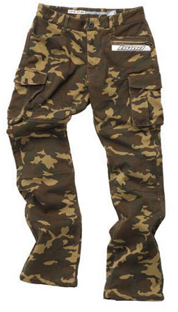 HYOD PRODUCTS D3O CARGO PANTS WARM LAYERD BROWN CAMO