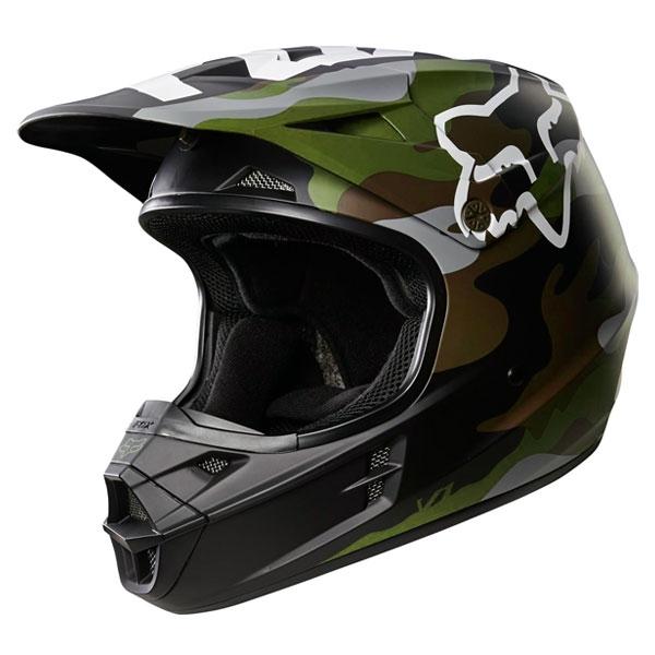 2016年モデル V1 カモ ヘルメット