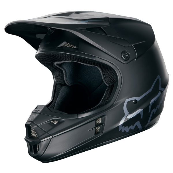 2017年モデル V1 マットブラック ヘルメット