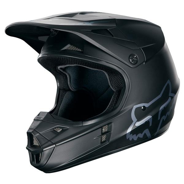 FOX RACING 【在庫限り】〔WEB価格〕V1 マットブラック オフロードヘルメット