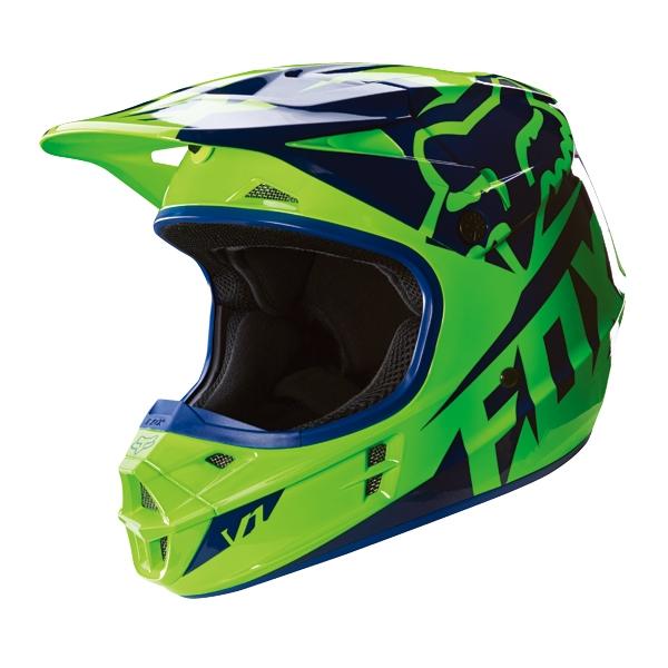 FOX RACING 2016年モデル V1 レース ヘルメット